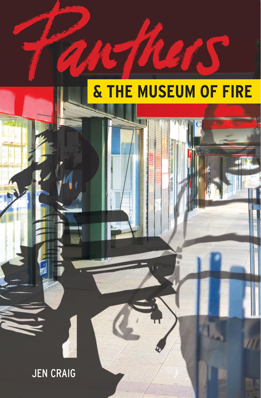 Cover of Panthers and the Museum of Fire by Jen Craig