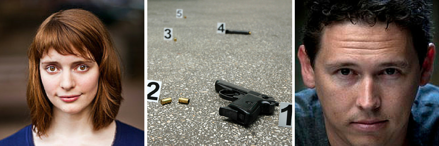 Emily St John Mandel, crime scene and Zane Lovitt