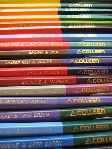 Double-ended Colleen coloured pencils