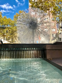 El Alamein Fountain in Kings Cross