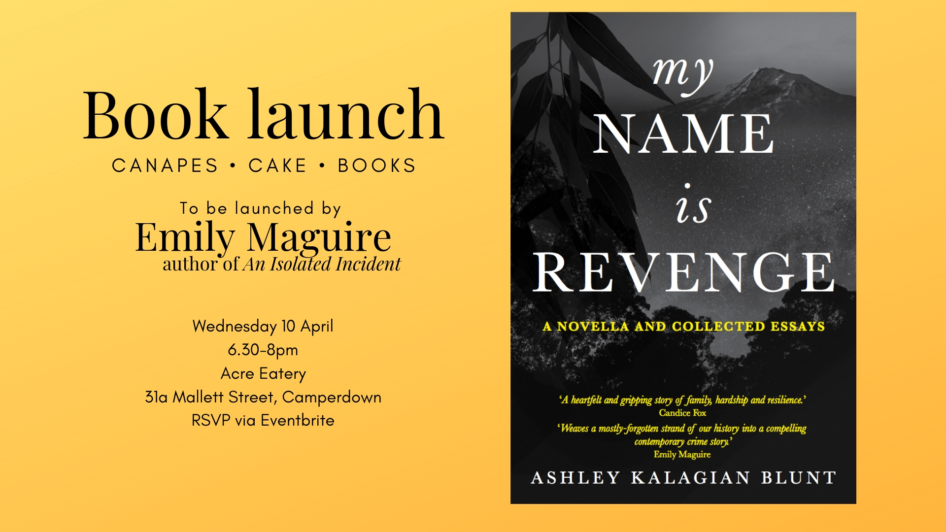 Launch: My Name Is Revenge