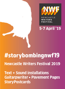 Newcastle Writers Festival 2019 #storybombing image