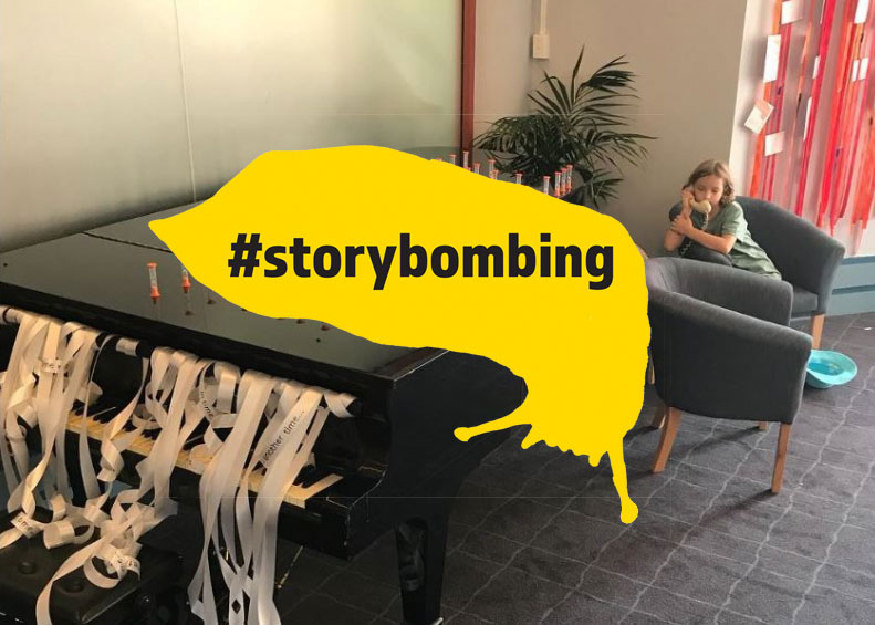 Storybombing