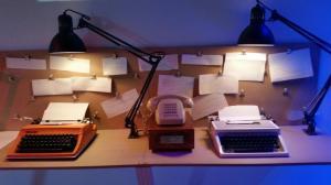 typewriter phone